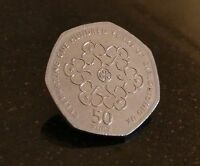 Rare Fifty Pence Coins 50p UK COIN HUNT