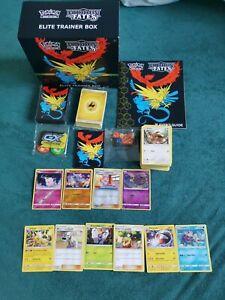 Pokemon Hidden Fates Top-Trainer Box / mit Holos und Seltene / Englisch