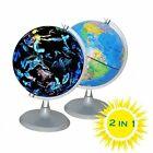 Illuminated World Globe - USB 2 in 1 LED Desktop World Globe, Interactive G-1