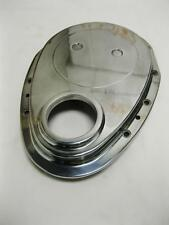 Small Block Chevy 283 302 327 350 V8 Polished Aluminum Timing Chain Cover SBC