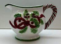 RARE Charter Club WINTER GARLAND Creamer EXCELLENT Condition!!!!