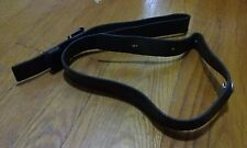 Swiss leather k31 rifle sling original army 7.5x55 quick detach clip C110