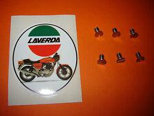 Laverda 1000 3C 3CL Jota Mirage 180 1200 Carb Plate Stainless Screws FREEPOST