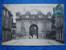 VITRY-LE-FRANCOIS  :  La Porte et le Pont....Animée.