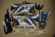 FLU TEAM GRAPHICS & W BACKGROUNDS YAMAHA YZ250F YZ450F YZF250 YZF450 06 07 08 09