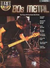 80s Metal Bass Guitar TAB Learn to Play Scorpions Ozzy Music Book CD