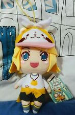 FuRyu Kagamine Rin VOCALOID Hatsune Miku Series X Rascal Plush Toy Hanging Strap