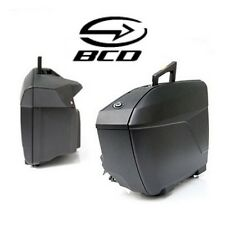 Couvercle slim BCD pour sacoches BMW K1600 bagage valise noir mat NEUF taschen