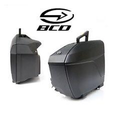 Couvercle slim BCD pour sacoches BMW K1600 RT après 2014 bagage valise noir mat