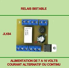 LOT DE 3 MODULES RELAIS BISTABLE