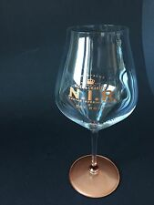 RIEDEL Moët Chandon N.I.R. Champagner Glas Dickbauchig Limited Edition NEU