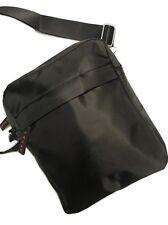 New Men's Waterproof Cross Body Messenger Shoulder Utility Travel Work Bag Black