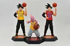 Dragon Ball Z Basketball Teams T-Shirt Action Figure Toy Model PVC Doll Son Goku
