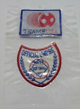 More details for team usa & official umpire amateur softball usa patches sealed