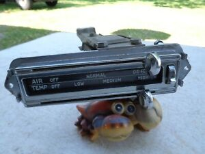 1953 1954 Pontiac Chieftain Catalina Heater Defroster Controls In Dash OEM
