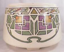 Roseville Persian Planter Jardiniere Pottery Art Deco Stylized Tulip Vintage