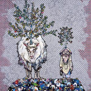 Takashi Murakami 'Deer God of the Forest and Arhat' Ltd Ed. Kaikai Kiki.