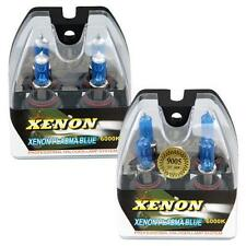 4 9005 HB4 9006 HB3 6000K Xenon Halogen Headlight Lamp Bulbs 100W