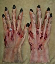 ROTTING FLESH DEATH ZOMBIE HANDS GLOVES COSTUME ACCESSORY TH155