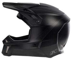 Klim F3 Black Stealth Helmet