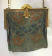 New listing Antique Art Deco Whiting Davis Fine Dresden Flapper Mesh Purse Handbag