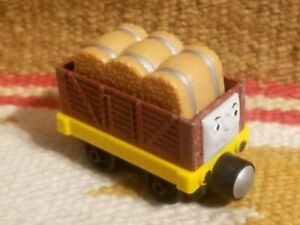 THOMAS THE TRAIN TROUBLESOME TRUCK w HAY  Wooden Railway Toy Learning Curve