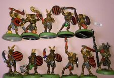 11 Beastman Gors with Command - Beasts of Chaos Standard Musician METAL Beastmen