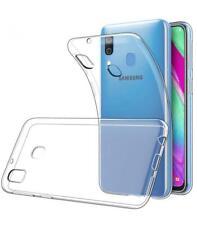 Funda de gel TPU carcasa silicona para movil Samsung Galaxy A40 Transparente
