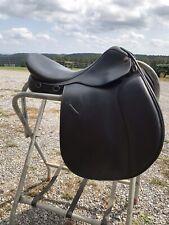 "New listing Ovation All Purpose Black 17.5"" English Equestrian Saddle"