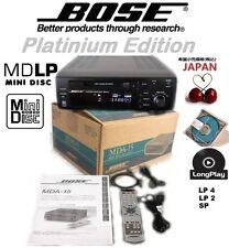 RARE NEW BOXED! BLACK BOSE MDA-15 MINIDISC DECK MDLP MD, SONY ATRAC 3, WORLD AC