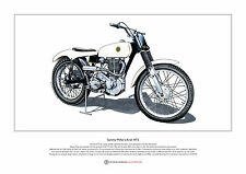 Sammy Miller's Ariel HT5 Trials Bike GOV 132 Ltd Edition Fine Art Print A3 size