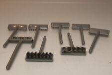 Playmobil lote  8x escobas cepillo accesorios country belen repuestos broom p350