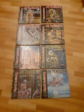 Iron Maiden 8 Picture disc Limited Killers Powerslave live after death