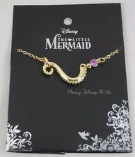 New Disney The Little Mermaid Tentacle Ursula Purple Gem Necklace