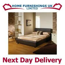 Handmade Leather Beds with Mattresses