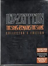 """LED ZEPPELIN """"The song remains the same"""" Collectors Edition DVD OOP Extreme Rare"""