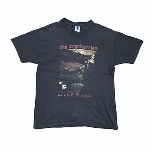 Vintage 1995 The Cranberries No Need to Argue Tour GEM Single Stitch Mens XL