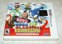 Sega 3D Classics Collection for Nintendo 3DS Brand New! Fast Shipping!