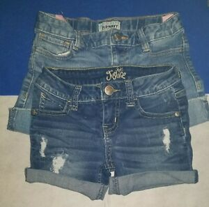 Lot of 2 Girl's Old Navy Justice Shorts