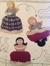 Topsy Turvy Doll Vintage Knitting Pattern