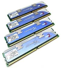 Kingston HyperX 4GB Kit (4x1GB) DDR2-1066 PC2-8500 Non-ECC KHX8500D2K4/4G RAM