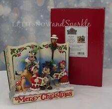 2019 *NEW* Jim Shore DISNEY Storybook Christmas Carol Mickey Minnie Donald Duck