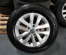 Vw T5 T6 Transporter Genuine 16 Inch Alloy Wheels And Tyres 205/65/16 200 MILES