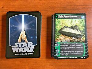 2003 WotC STAR WARS tcg/ccg BATTLE OF YAVIN 35-card common set (x2) MINT