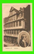 Frankfurt a. Main / Goethehaus ungel. 1910
