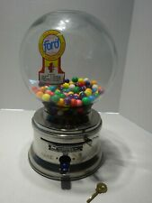 VINTAGE FORD 1 CENT GUMBALL MACHINE