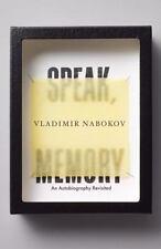 Speak, Memory: An Autobiography Revisited: By Nabokov, Vladimir