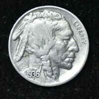 1936 - BUFFALO NICKEL - GREAT CONDITION - VF CONDITION