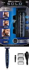 NEW Micro Touch SOLO Razor Rechargeable Shaver Trimmer Edger Men Trims Shave USB