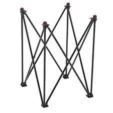 Juegos de jardín plegable de aluminio Carrom Stand-con Levellers Ajustable